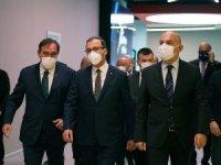 """Bakan Kasapoğlu: """"Amacımız herkesin sağlıklı bir şekilde bir araya gelmesini sağlamak"""""""