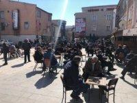Erzincan'da çay ocaklarında yoğunluk
