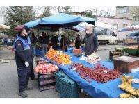 Nilüfer'de pazarlar normal düzene döndü