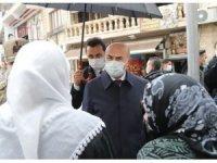 Mardin Valisi Demirtaş, korona virüs denetimine katıldı