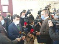 Vali Şahin, Başkent'te korona virüs denetimlerine katıldı