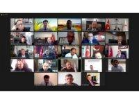 2021 yılında uygulanacak plan ve projeler ile ilgili video konferans düzenlendi