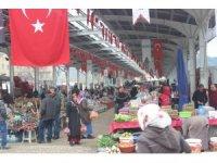 Kumluca'da korona virüs tedbirleri kapsamında pazar kurulmayacak