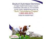 """Bayburt'ta """"Suni Tohumlama Projesi"""" için 1 milyon 800 bin TL'lik bütçe onaylandı"""