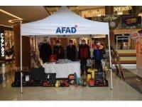 Nissara AVM'de Afet Bilinçlendirme standı açıldı