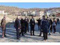 Başkan Savran, Fatih Sultan Mehmet Mahallesinde incelemelerde bulundu