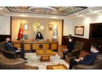 Rektör Aldemir, AK Parti Efeler İlçe Başkanı Elbir'i ağırladı