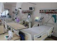 Bingöl'de hastanenin 3'te 2'si doluydu, 1 aydır yoğun bakıma hasta girmedi
