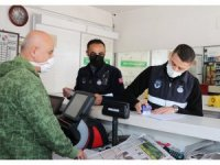 Toroslar Belediyesi zabıtasından korona virüs denetimi