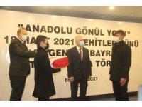 Şanlı Türk bayrağı Kilis'ten Çanakkale'ye uğurlandı