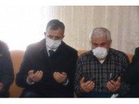 Kırıkkale Valisi Sezer'den şehit evine taziye ziyareti