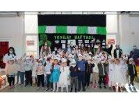 Diyarbakır'da duyarlı minikler Yeşilay Haftasını kutladı