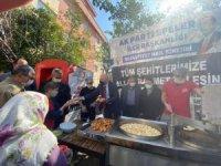 AK Parti Efeler'den şehitler için lokma ve aşure hayrı