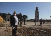 10 yıldır bitirilemeyen cami inşaatı ilgi bekliyor