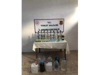 Tokat'ta jandarmadan kaçak alkol operasyonu