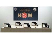 Çorum polisinden kaçak silah operasyonu: 3 tutuklama