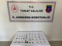 Tokat'ta 56 parça tarihi eser ele geçirildi