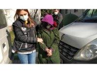 Genç kadın uyuşturucu ticaretinden gözaltına alındı