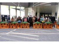 Kayapınar Belediyesinden Kedi Evi Projesi