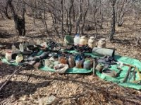 Tunceli'deki Eren-7 operasyonunda 1 sığınak imha edildi
