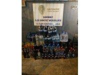 Gaziantep'te 321 litre kaçak alkol ele geçirildi