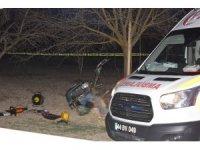 Elbisesini çapa makinesinde kaptıran yaşlı adam hayatını kaybetti