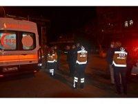Ambulans ile ticari taksi çarpıştı: 1 yaralı