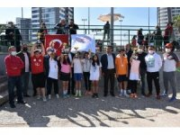 12-14 yaş tenis il birinciliği sona erdi