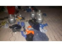 Hırsızlık şüphelileri 150 farklı malzemeyle yakalandı