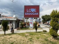 Yunusemre Belediyesinden 'Stop Erdoğan' cevabı