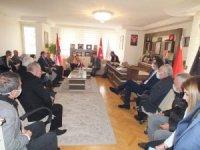 Hırvatistan Büyükelçiliği'nden SANKON'a ziyaret
