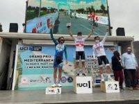 Uluslararası Yol Bisikleti yarışlarında Sakarya Büyükşehirli sporcu 1'inci oldu