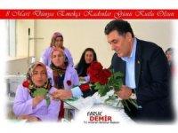 Ardahan Belediye Başkanı Faruk Demir'in 8 Mart mesajı