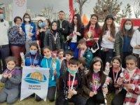 8 Mart Dünya Kadınlar Günü Oryantiring Yarışmaları düzenlendi