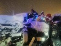 Bitlis'te trafik kazası: 1 yaralı