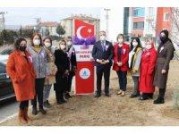 Nevşehir'de 8 Mart Dünya Kadınlar Günü parkı açıldı