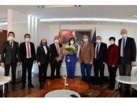 CHP Aydın'dan Başkan Çerçioğlu'na Kadınlar Günü kutlaması