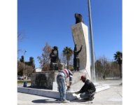 Şehirdeki tüm anıtlar ve heykeller yenilenecek