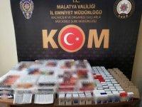 Malatya'da sigara kaçakçılığına geçit yok