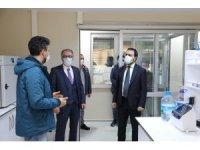 TÜSEB Başkanı Akdoğan, Rektör Uzun'u ziyaret etti