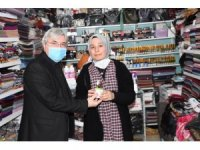 Başkan Cengiz 8 Mart'ı çalışan kadınlar ile birlikte kutladı