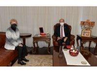"""KKTC Cumhurbaşkanı Tatar: """"Bizim için önemli olan ulusal çıkarlarımızın iyi bir şekilde korunabilmesi"""""""
