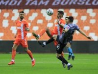 TFF 1. Lig: Adanaspor: 1 - Balıkesirspor: 1
