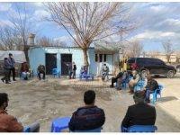 Kaymakam ve Belediye Başkan Vekili Öztürk, Ergani'de mahalle ziyaretlerine devam ediyor