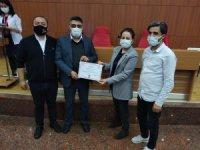 Aydın Kadın Doğum ve Çocuk Hastalıkları Hastanesi personeline teşekkür belgesi verildi