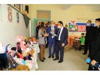 """Hadim'de ilkokul öğrencilerinden """"Atadan Toruna Oyuncaklar"""" sergisi"""