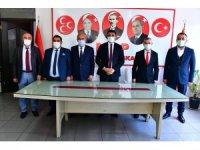 Başkan Çınar, MHP'liler ile bir araya geldi