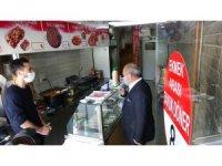 Çankırı'da esnafa 'reklam' desteği