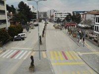 Çankırı'da 4 hafta sonra sokaklar sessizliğe büründü