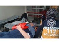 Tır ile hafif ticari araç çarpıştı: 4 yaralı